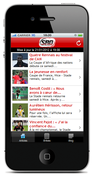 Stade Rennais Online lance son application mobile