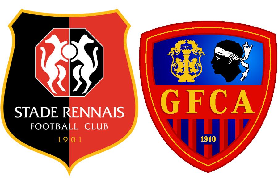 Rennes gaz lec ajaccio les titulaires stade rennais - Logo stade rennais ...