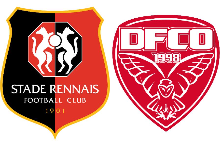 rennes dijon les titulaires stade rennais online