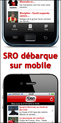 Application mobile Stade Rennais Online